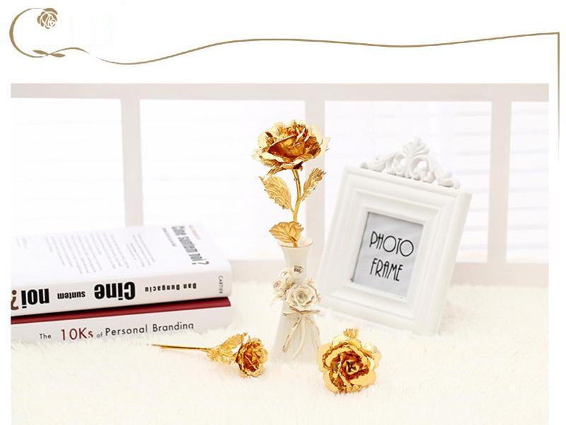 金箔玫瑰花