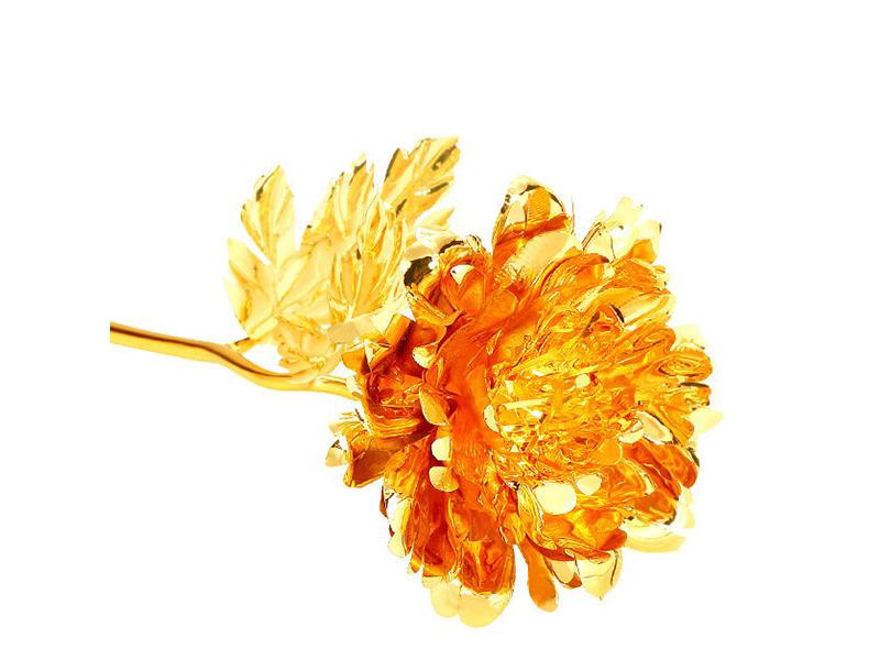 金箔牡丹花