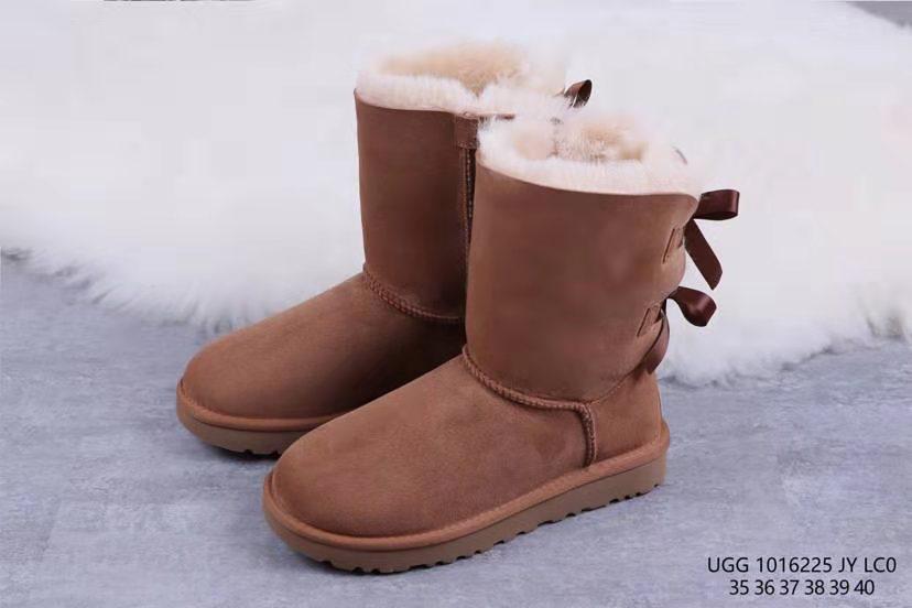 福建莆田UGG鞋皮毛一体长筒靴厂家一手货源