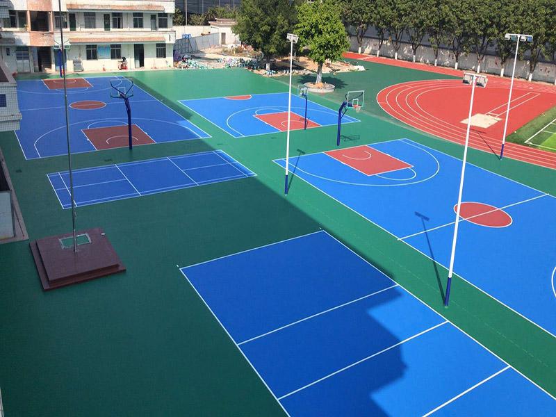 广西丙烯酸球场-广西专业广西丙烯酸篮球场厂家
