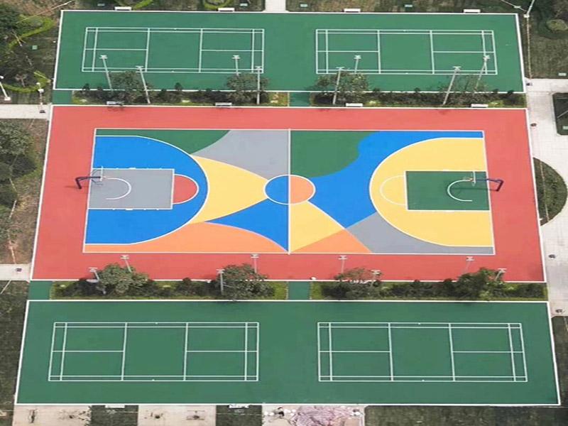 贵州体育设施批发厂家_南宁质量有保障的云南硅PU球场材料