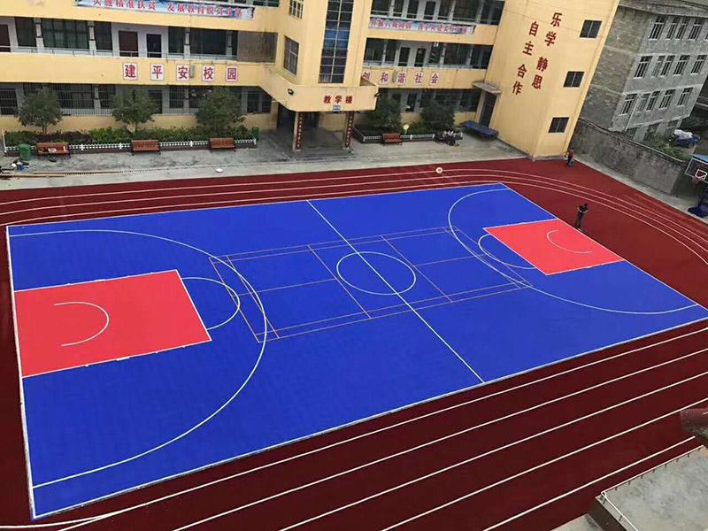 昆明硅PU球场施工厂家_优惠的云南硅PU球场材料出售