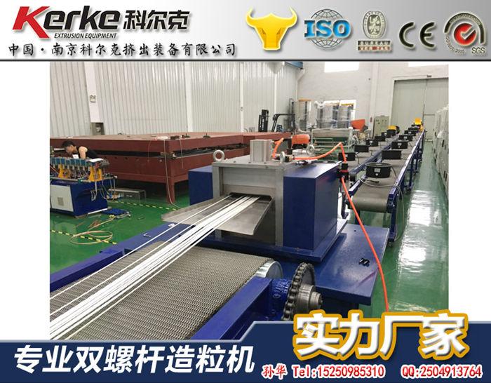 可降解塑料回收,聚乳酸造粒机,PLA双螺杆造粒机厂家直销