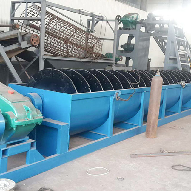 螺旋洗砂机订做//螺旋洗砂机生产厂家