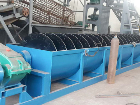 螺旋洗砂机生产厂家【一诺千金】螺旋洗砂机订做