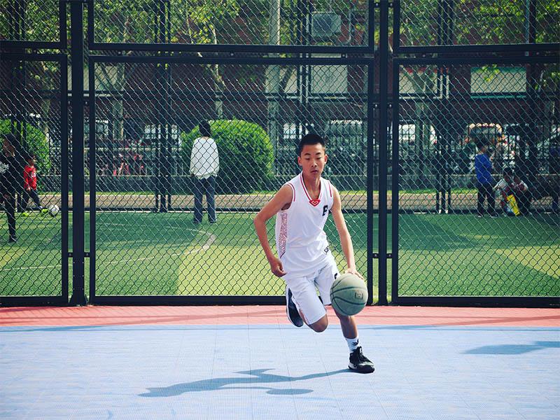 初中组篮球培训