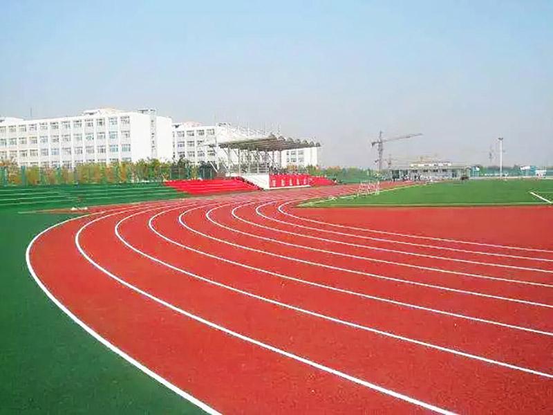 广西体育场地塑胶跑道施工|哪里能买到新款广西混合型塑胶跑道
