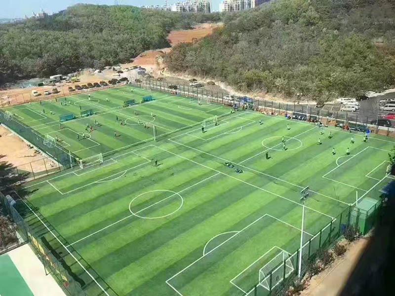 廣西人足球場人造草坪價錢-廣西物超所值廣西人造草坪施工足球場地材料供應