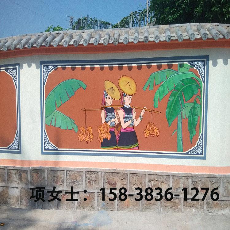 智能墙体彩绘机 餐馆酒店壁画背景墙壁画立体彩绘喷绘打印机