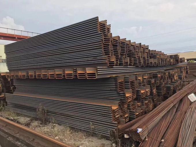 梅州新型u型钢板桩 杰出的热轧钢板桩提供商,当选经久公司
