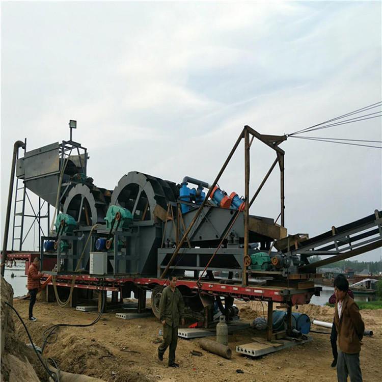 移动式洗沙设备生产厂家-普凯煜泰环保机械好用的移动式洗沙设备出售