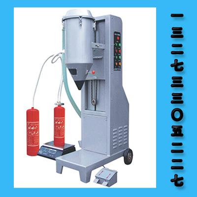 灭火器干粉充装机回收干粉方法