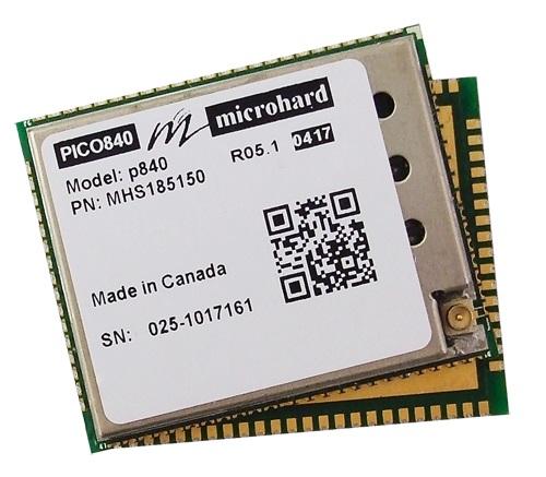 ^Microhard  P400-840数传射频模块