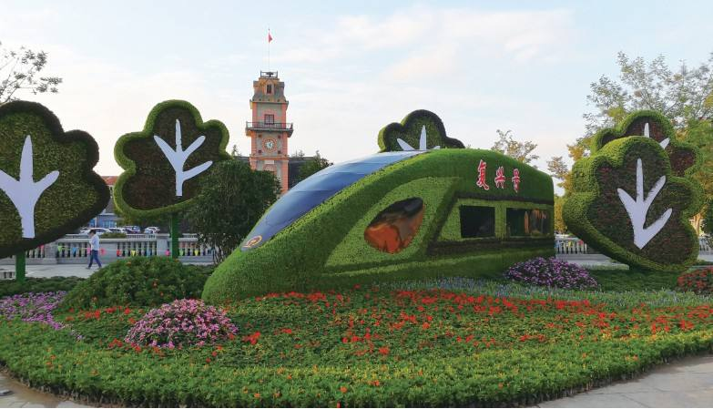西宁花坛花卉-西宁哪里可以做青海园林景观