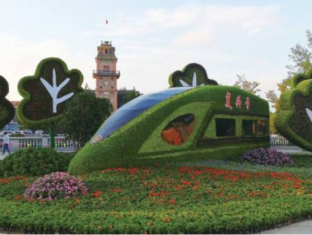 不同绿雕的不同特点介绍-青海大型绿雕
