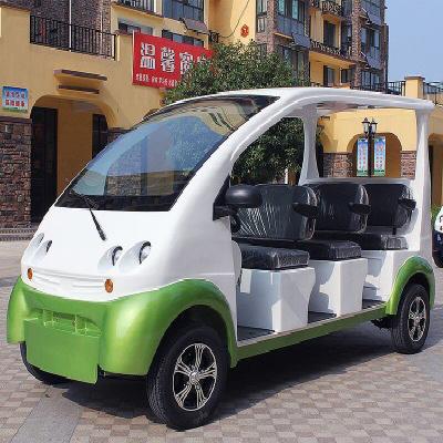电动观光车的应用于好处?电动观光车能上牌照吗?