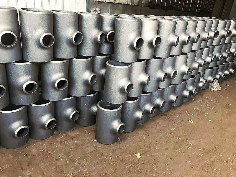 现货直销377*8无缝钢管国标设备挤压碳钢高压厚壁三通