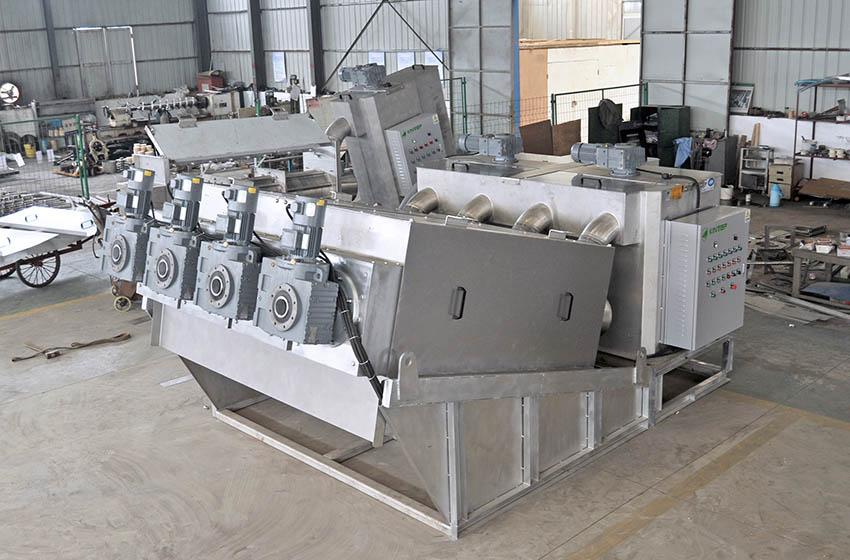 叠螺式污泥脱水机供货商-长期供应叠螺式污泥脱水机-量大从优
