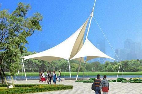西安污水處理膜結構加蓋廠家_陜西銷量好的西安公園膜結構廠家推薦