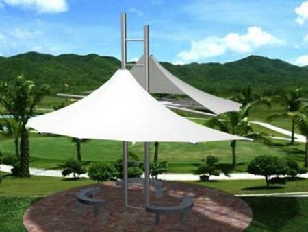 西安停车场膜结构价格-知名的西安公园膜结构厂家厂商
