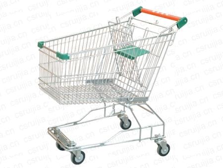 甘肃超市购物车厂家