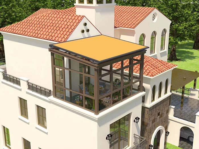 寧夏陽光房天幕蓬報價-寧夏森之誠遮陽用品劃算的寧夏陽光房天幕蓬批發