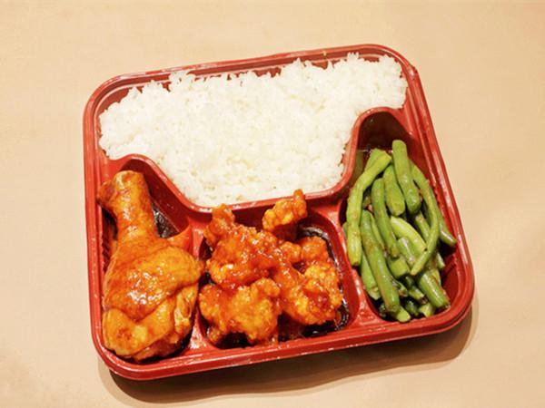 可靠的盒飯配送|靠譜的盒飯配送服務味百鮮餐飲管理提供