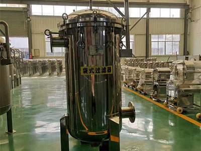 袋式過濾器廠家-大量供應質量好的不銹鋼袋式過濾器