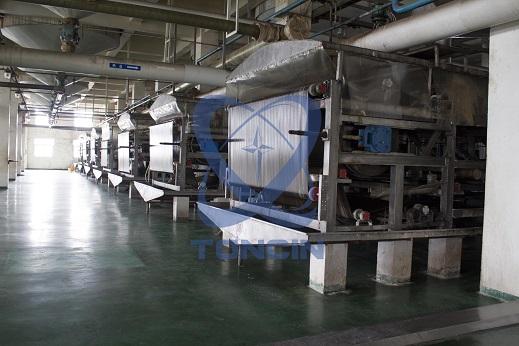 带式真空过滤机橡胶带式过滤机厂