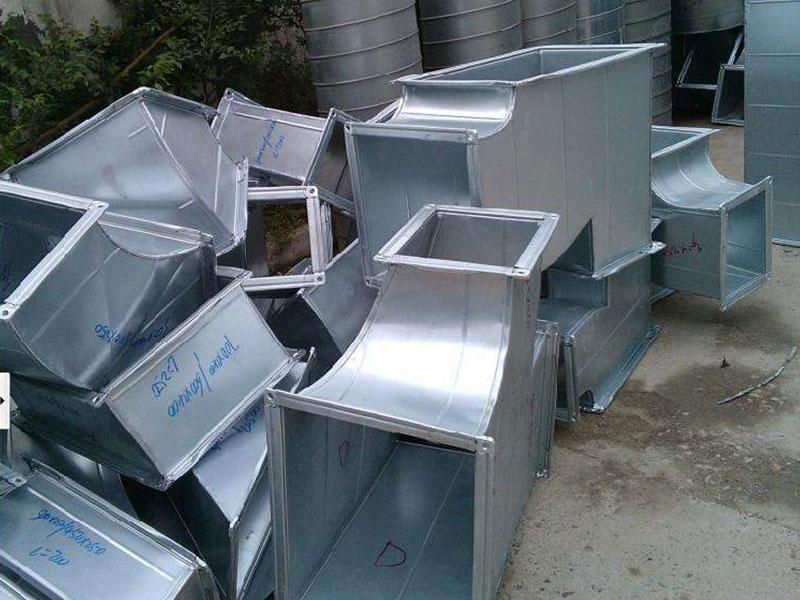 格尔木推荐西宁不锈钢通风管道 性价比高的青海通风管道推荐