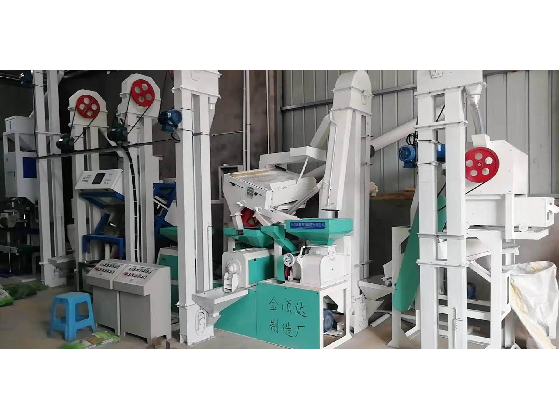 遼寧成套碾米機設備-金順達機械廠提供質量好的成套組合碾米機