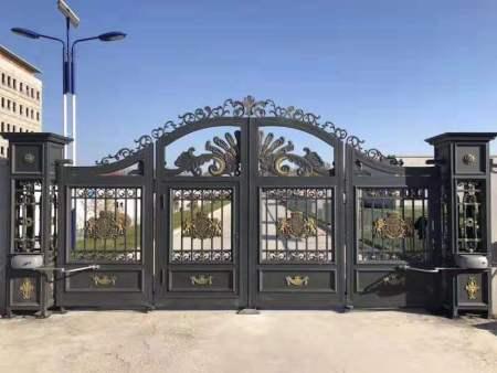 沈陽鋁藝大門就選樣式繁多,質量有保障的鑫正通達金屬制品