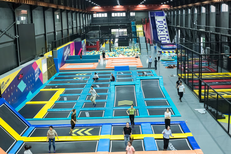 如何加盟蹦床公园,如何投资蹦床公园,投资蹦床公园加盟怎么样