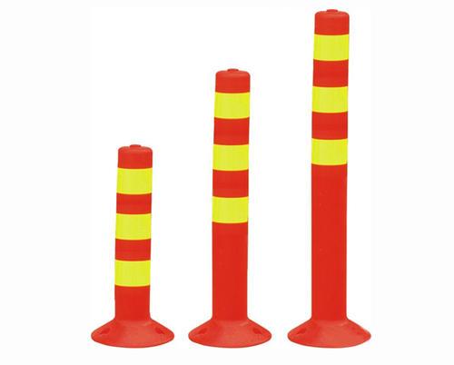 塑料警示柱-陕西专业的弹力柱哪里有售