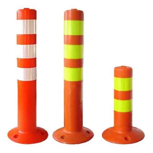 银川塑料警示柱厂家-路发交通-靠谱的弹力柱供应商