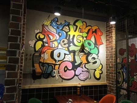 广东墙体彩绘,良好的设计就选吉卜力