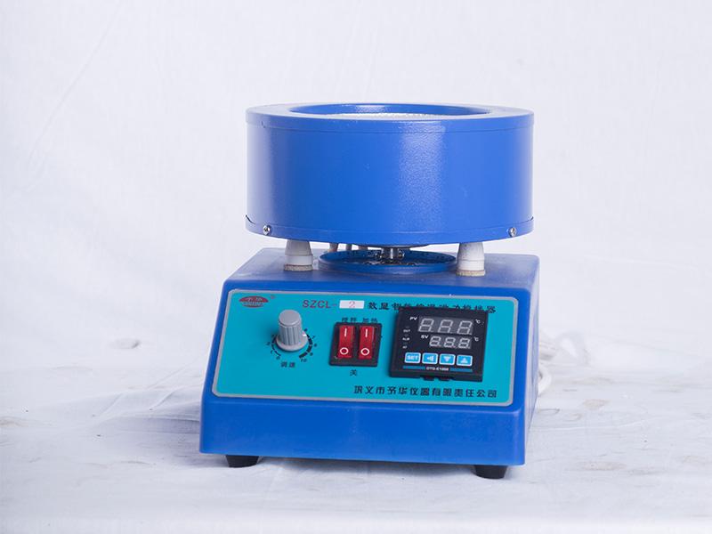 SZCL-2-500ML智能控温磁力搅拌器厂家-巩义予华仪器