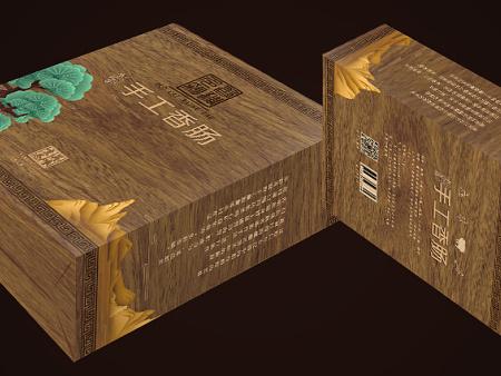 【宏吉包裝】煙台包裝盒_海參包裝盒_手提袋_專業定製