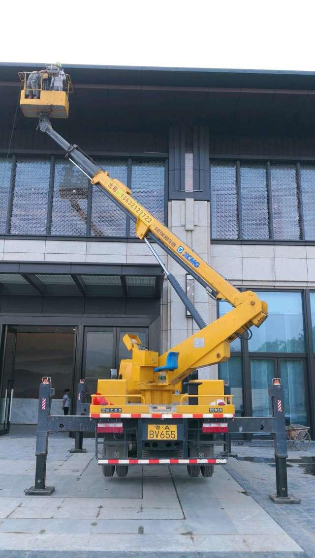 杭州战狼设备提供杭州亚运场馆高空车出租、杭州路灯车出租
