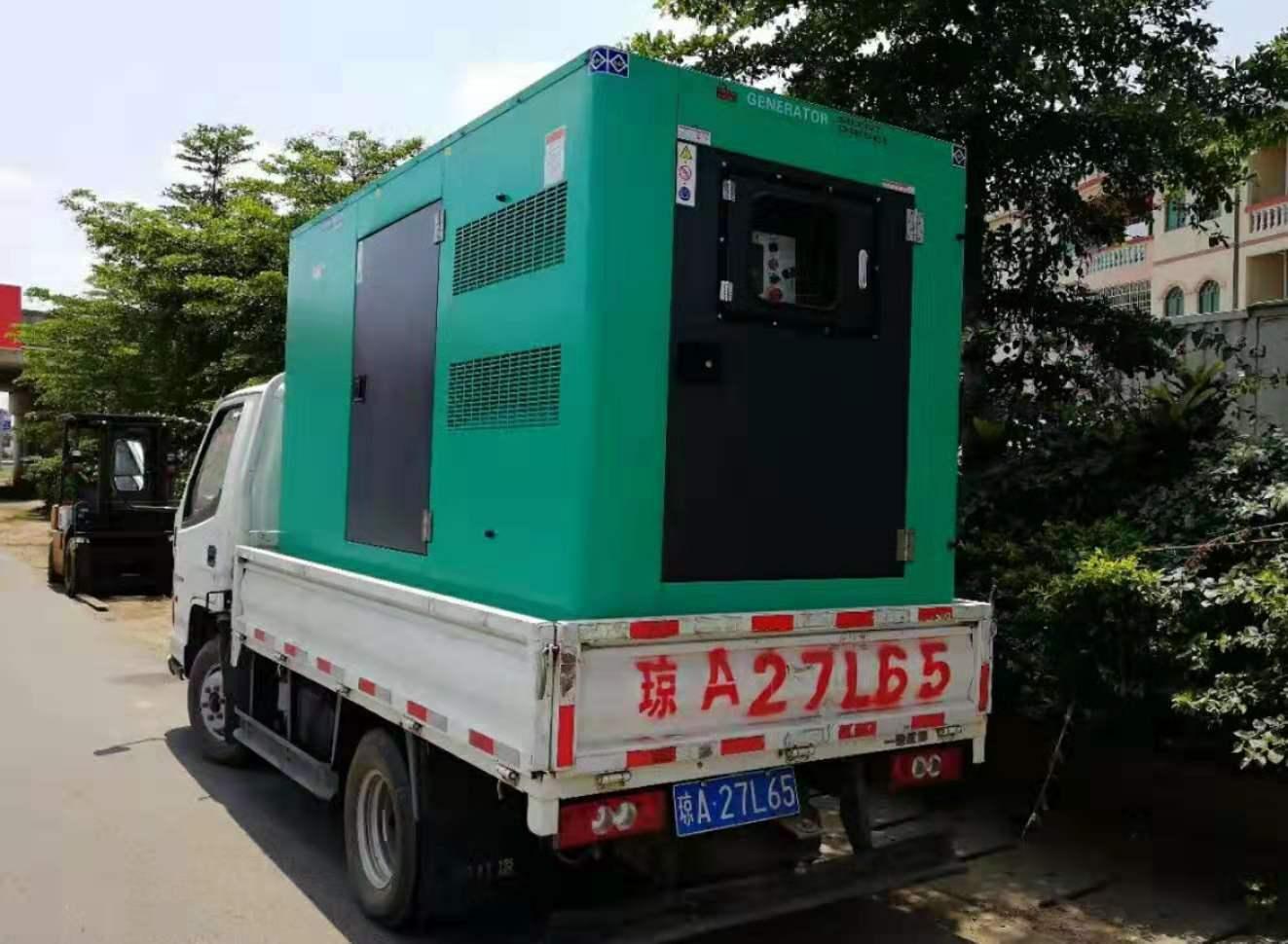 海南发电机出租电话 海口哪里有供应实惠的发电机