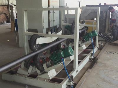 三层PE防腐生产线-3PE防腐设备-大口径PE管材生产线