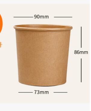 扬州牛皮纸汤碗生产-供应性价比高的牛皮纸汤碗