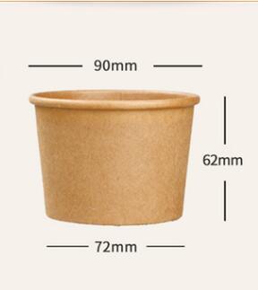 盐城牛皮纸汤碗厂家-新品牛皮纸汤碗供应商_意永新材料