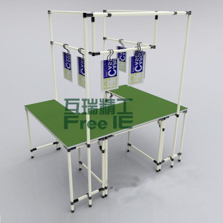 福建福州專業生產工作桌檢測桌線棒桌流水線
