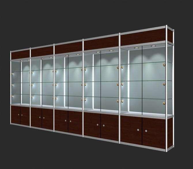 钛合金展示柜|青海钛合金展柜批发安装