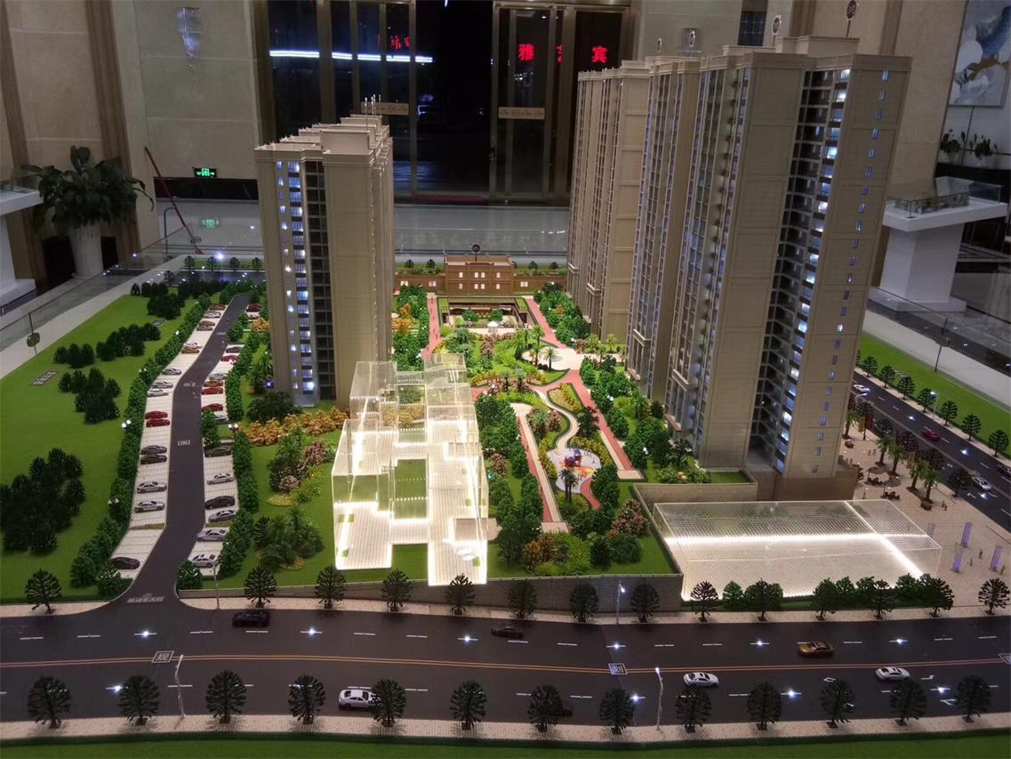 防城港房地产模型-仿真效果真实的广西建筑沙盘模型