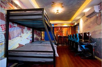 洛阳鲨鱼酒店特色|洛阳哪里有服务周到的电竞主题房间