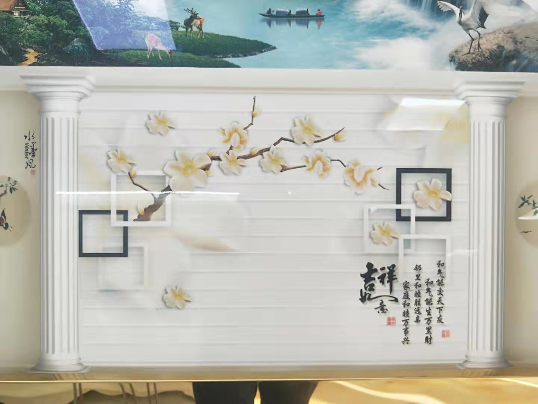 銀川背景墻——寧夏森禾裝飾材料加工有限公司