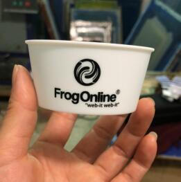 广州专业丝印加工塑料杯套丝印