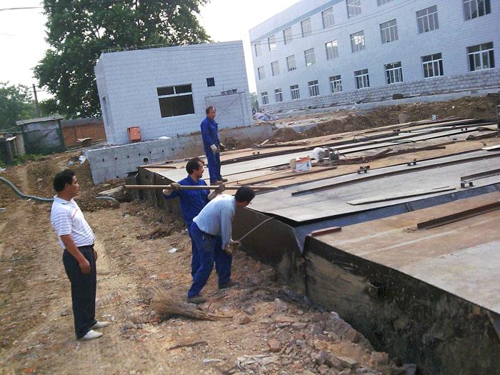 一体化地埋式污水处理装置_宜兴宝源环保设备有限公司